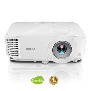 Проектор BenQ MW732, DLP, WXGA (1280x800), 20 000:1, 4 000 lm, 2x HDMI, VGA, USB image