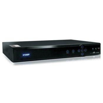 Аналогов HD (AHD) видеорекордер KGUARD KG-AR1621, 16 канален, 1080p, H.264, 1x SATA, HDMI, VGA, USB, ALARM, AUDIO, 1x RJ45 100 Mbps image