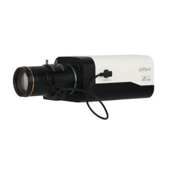 IP камера Dahua IPC-HF8242F-FR, Box камера, 2MPix (1080P (1920x1080)/50FPS), Video compression H.265+/H.265/H.264+/H.264, PoE (802.3af), RJ-45, MicroSD карта, 2x аудио вход/1x аудио изход, вграден микрофон image