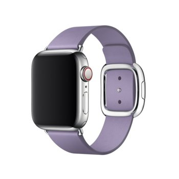 Каишка за смарт часовник Apple Watch (40mm) Lilac Modern Buckle - Large (Seasonal Spring2019), лилав image