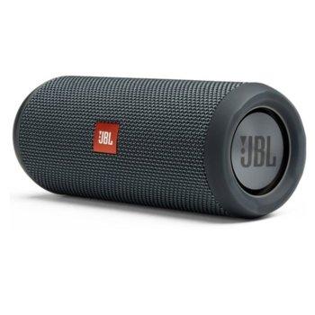 Тонколона JBL Flip Essential, 2.0, 16W (8W + 8W), Bluetooth 4.1, 3.5mm жак, сива, IPX7 водоустойчива, до 10 часа време за работа image