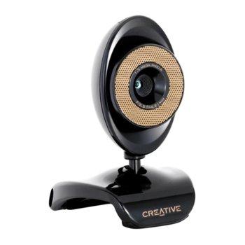 Уеб камера Creative Live! Cam Video IM Ultra, микрофон, XGA+, 30fps, USB, черна image
