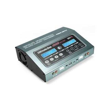 Зарядно устройство SKYRC D400, възможност за зареждане на две батерии с различен химически системи, USB image