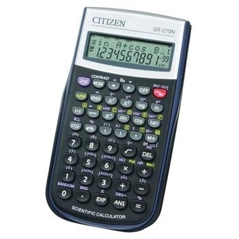 Калкулатор Citizen SR-270, 12 разряден дисплей, научен, 236 функции, черен image