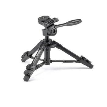 Трипод Velbon EX-MACRO, мин/макс. височина 20.3-56 см, 2.5кг товароносимост, алуминиев, черен image