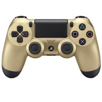 Геймпад Sony DualShock 4, безжичен, за PS4, златист image