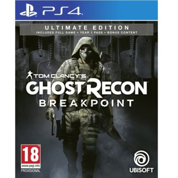 Игра за конзола Tom Clancy's Ghost Recon Breakpoint Ultimate Edition, за PS4 image