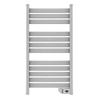 Радиатор Cecotec Ready Warm 9000 Twin Towel, 450 W, за баня, 1 степен на мощност, 12 ребра, автоматично изключване, LED дисплей, защита срещу прегряване, бял image