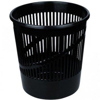 Кошче за отпадъци, 12L, черно image