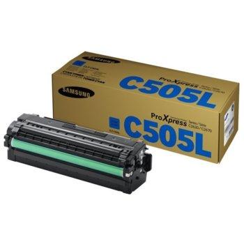 Касета за Samsung CLT-C505L/ELS - Cyan - заб.: 6 000k image
