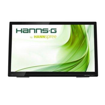 """27"""" (68.58) HANNS.G HT273HPB Тъч монитор, черен, LED, 16:9, 80 000 000:1, 1920x1080, 178/178, 10-Point-Touch, VGA, HDMI, USB, Audio  image"""