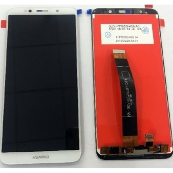 Дисплей за Huawei Y5 2018/Y5 Prime LCD с тъч,оригинален, бял image