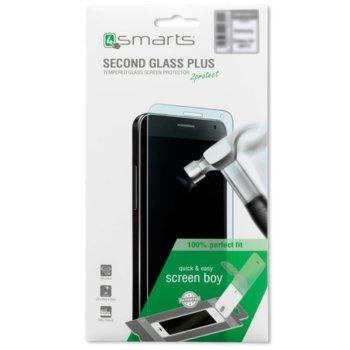 Протектор от закалено стъкло /Tempered Glass/ 4smarts Second Glass, за Huawei P10 Lite image