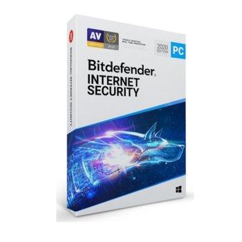Софтуер Bitdefender Internet Security, за Windows, 5 потребителя, 1 година image