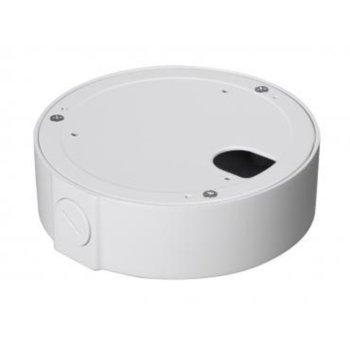 Разпределителна кутия Dahua PFA131, алуминий, 138 х 42mm, до 3кг товар, за монтаж на булет камери, бяла image