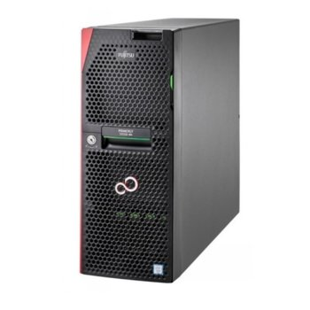 Сървър Fujitsu Primergy TX1330 M4 (VFY:T1334SC030IN), четириядрен Coffee Lake Intel Xeon E-2124 3.3/4.30 GHz, 16GB DDR4 UDIMM, без твърд диск, 1x LAN 10/100/1000, 4x USB 3.0, без ОС, 450 W  image