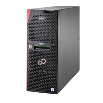 Сървър Fujitsu Primergy TX1330 M4 (VFY:T1334SC030IN), четириядрен Coffee Lake Intel Xeon E-2124 3.3/4.30 GHz, 16GB DDR4 UDIMM, без твърд диск, 1x LAN 10/100/1000, 4x USB 3.0, без ОС, 450 W  image