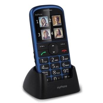 "GSM MyPhone Halo 2 (син), 2.2""(5.58cm) TFT дисплей, MediaTek MTK6261D, 32MB RAM, 24MB Flash памет (+microSD слот), 0.3 MPix камера, 85 g image"