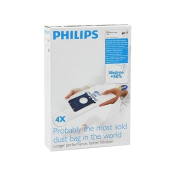 Торби за прах Philips FC8021/03, 4x s-bag image