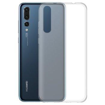 Калъф за Huawei P20 Pro, силиконов гръб, силикон, тънък, прозрачен image