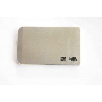 """Кутия, 2.5""""(6.35 cm), SATA, USB 2.0, бяла  image"""