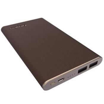 Външна батерия/power bank/ Energizer Ultimate Premium (UE10009_DB), 10 000mAh, кафява, 2x USB-A, 1x Micro USB image