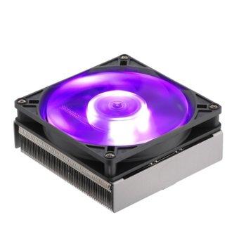 Охлаждане за процесор Cooler Master MasterAir G200P RGB Low-Profile (MAP-G2PN-126PC-R1), съвместимост с Intel LGA 1150/1151/1155/1156 & AMD FM1/FM2/FM2+/AM2/AM2+/AM3/AM3+/AM4, RGB подсветка image