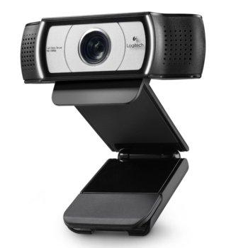 Уеб камера Logitech Webcam C930e, HD(до 1920 x 1080 видео разговори), USB 2.0 (USB 3.0 ready) image