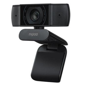 Уеб камера Rapoo XW170 (20023), микрофон, 1280x720/30fps, USB, черна image