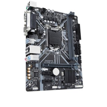 Дънна платка Gigabyte H310M DS2, H310, LGA1151, DDR4, PCI-E(VGA D-Sub), 4x SATA3 6.0 Gb/s, 4 x USB 3.1 Gen 1, micro ATX image