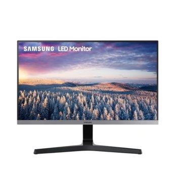 Монитор Samsung S24R350FHU, 23.8 (60.45 cm) IPS панел, 75Hz, Full HD, 5ms, 250cd/m2, HDMI, VGA image