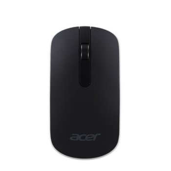 Мишка Acer Thin-N-Light, оптична (1000 dpi), безжична, USB, черна image