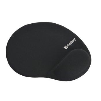 Подложка за мишка Sandberg Gel 520-23, 256 x 220 x 18mm, черна image