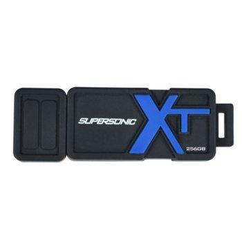 Памет 256GB USB Flash Drive, Patriot Supersonic Boost (PEF256GSBUSB), USB 3.1, черна image