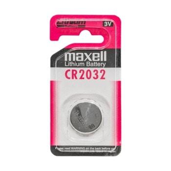 Батерия литиева Maxell For Calculator CR2032, 3V, 1бр. image