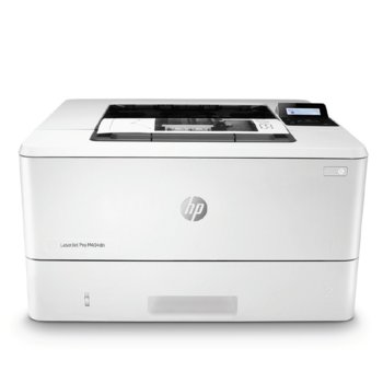 Лазерен принтер HP LaserJet Pro M404dn, монохромен, 4800 x 600 dpi, 38 стр/мин, LAN, A4, 256MB DRAM, 256MB Flash image