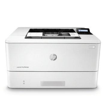 Лазерен принтер HP LaserJet Pro M404dn, монохромен, 4800 x 600 dpi, 38 стр/мин, LAN, A4, 256MB DRAM, 256MB Flash image