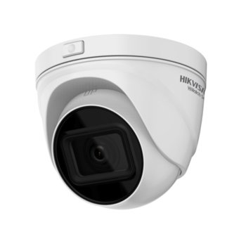 IP камера HikVision HWI-T641H-Z, куполни камери, 4Mpx (2560×1440@20fps), 2.8~12mm обектив, H.265+, H.265, H.264+, H.264, IR осветленост (до 30м), Micro SD, външна IP67, PoE, RJ-45 image