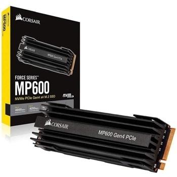 Памет SSD 500GB Corsair Force MP600, NVMe Gen4, M.2 (2280), скорост на четене 4,950 MB/s, скорост на запис 2,500 MB/s image