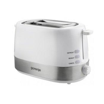Тостер Gorenje T 850WE, 7 степени, автоматично изхвърляне, 720W, бял image
