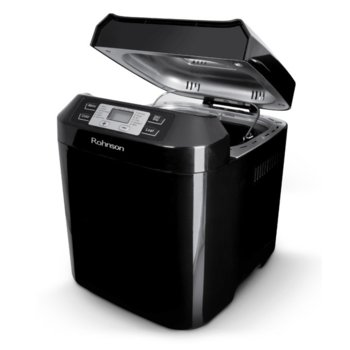 Хлебопекарна Rohnson R-2094, 12 автоматични програми, отложен старт, LCD дисплей, 500W, черна  image