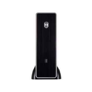 Кутия E-mini C3 Silver, Mini-ITX, HDMI, USB 2.0, черна, 120 W захранване image