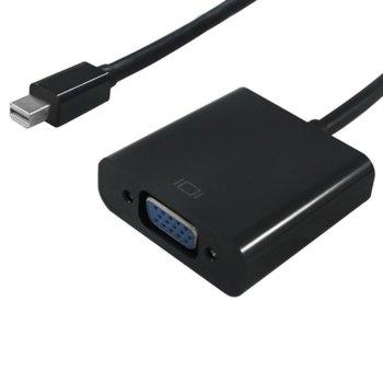 Преходник Roline S3205-10, от Mini DisplayPort (м) - VGA (Ж) , 0,15м, черен image