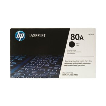 HP LaserJet Pro 400 M401, M425 series - Black - P№ CF280A - заб.: 2700k image