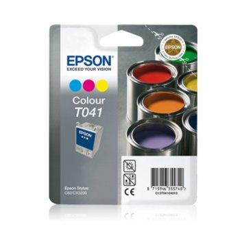 ГЛАВА ЗА EPSON STYLUS C 62/CX 3200 - Color - P№ C13T04104010 image