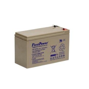 Акумулаторна батерия FirstPower MS7-12, 12V/7Ah image
