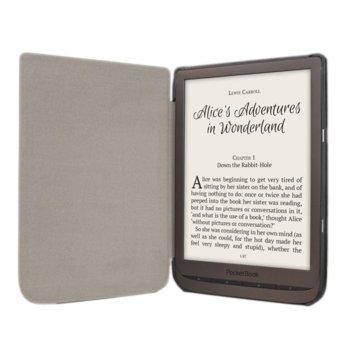 Калъф за електронна книга, Pocketbook Cover Shell, за PocketBook InkPad 740, полиуретан, черен image