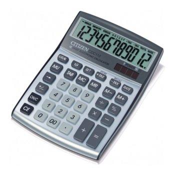 Калкулатор Citizen CDC-112, ТАХ функция, oсновни математически действия, сребрист image