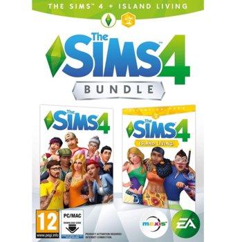 Игра The Sims 4 + допълнение Island Living, за PC image