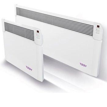 Конвектор Tesy CN 04 300 EIS W, LED дисплей, Функция за отложен старт, защита срещу прегряване, електронен терморегулатор, 3000W, бял image